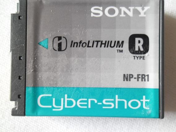 Bateria Np-fr1 Para Câmera Digital E Filmadora Sony Original