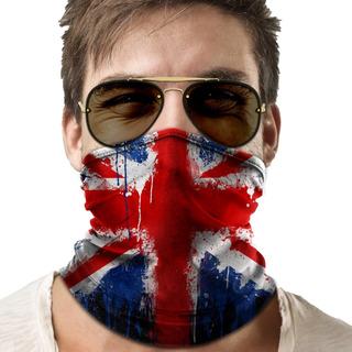 Bandana Mascara Bandeira Inglaterra Lenço Moto Proteção 02