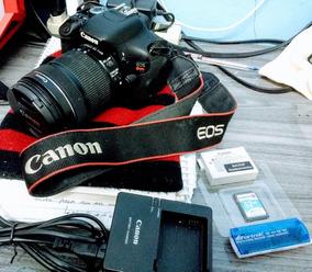 Câmera Profissional Canon T3i + Acessórios
