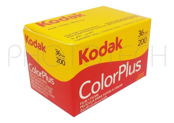 Filme Fotográfico Kodak 36 Poses Iso 200 Colorplus Colorido