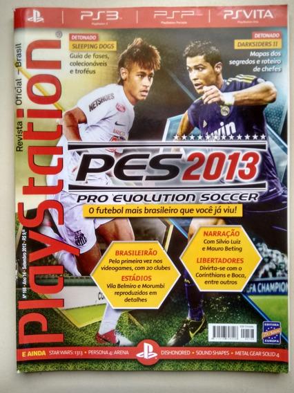 Revista Playstation 166 Pes 2013 Neymar Cr7 Darksiders B543