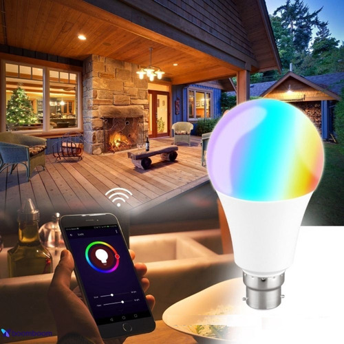 Smart Bulbo Led Wi-fi Inteligente  Rgb Branca/colorida