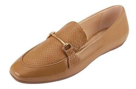 Zapatos Para Dama Color Camel Estilo Casual Terra 025330