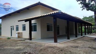 Casa Duplex Em Condominio Fechado De Chacara Em Aquiraz - Ch0002