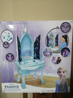 Tocador Frozen 2 Luz Y Sonido E Imagenes. Vanity Elsa