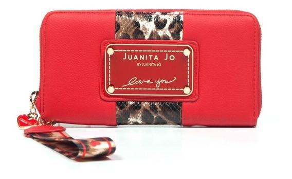 Billetera Juanita Jo Outside ( Rojo - 30053 )