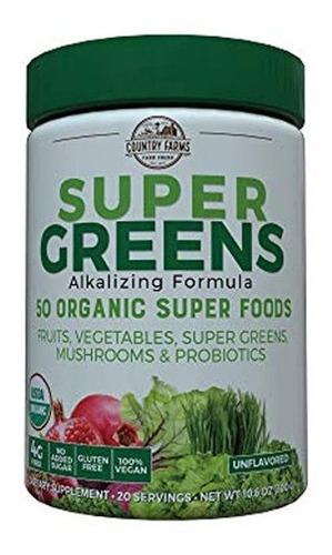 Country Farms Bebida Verde Super, N9265, 1, 1