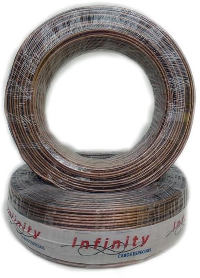 Fio Bicolor Paralelo Cristal Polarizado C/100 Mts 2x 2,5mm