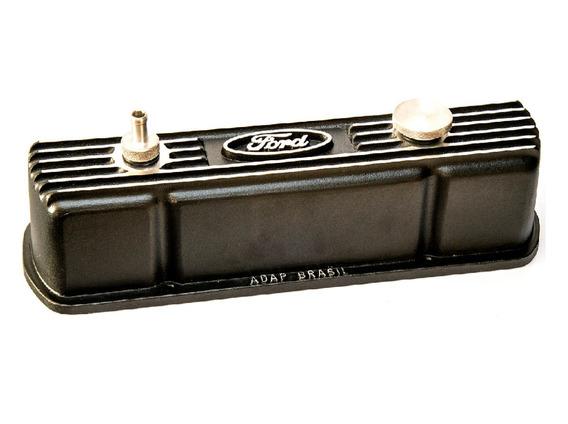 Tampa De Válvula Do Motor Opala 4cc Para Ford Em Alumínio