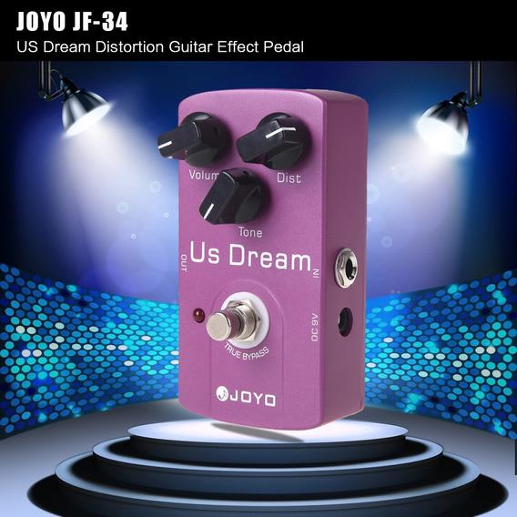 Joyo Jf -34 Distorção Guitarra Efeito Pedal True Ignorar