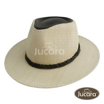 Sombrero Jucara Australiano De Yute Fino