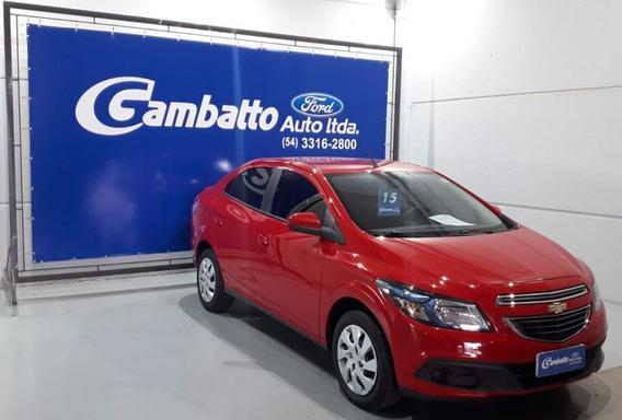 Chevrolet Prisma Lt 1.4 2015 Vermelha Flex