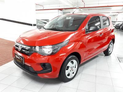 Fiat Mobi Evo Like 1.0 2019 10mil Km Completo Vermelho Zero