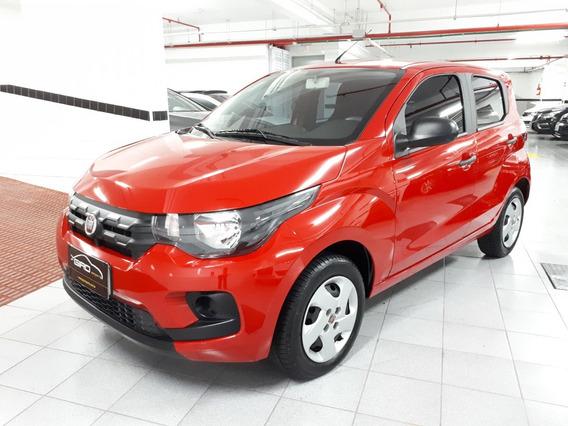 Fiat Mobi Evo Like 1.0 2019 7mil Km Completo Vermelho Zero