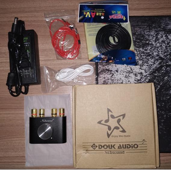Amplificador Som Audio Nobsound F900 Mini 2x50w Bluetooth