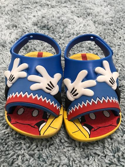 Sandália Confortar Do Mickey Baby
