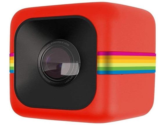 Câmera De Ação Full Hd Cube Polaroid