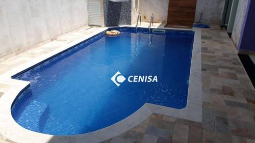 Casa Com 1 Dormitório À Venda, 100 M² - Jardim Monte Carlo - Indaiatuba/sp - Ca2271