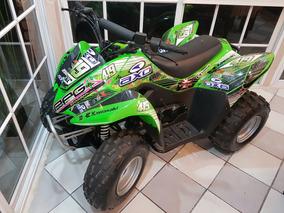 Kawasaki Cuatriciclo Kfx 90 Cc 2013 Con Accesorios