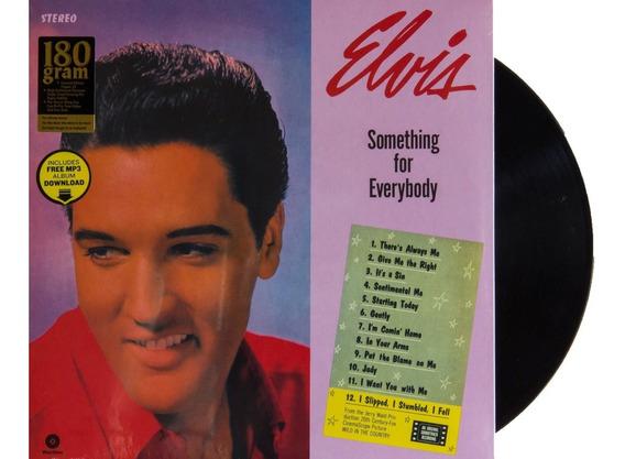 Lp Vinil Elvis Presley Something For Everybody Lacrado 180g