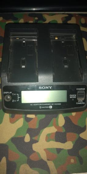 Carregador P Bateria Sony Duplo Ac-vq1050
