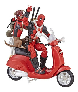 Marvel Legends Ultimate Deadpool Figura Vespa Pack