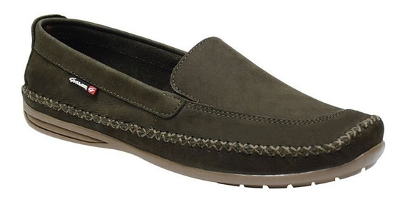 Sapato Masculino Mocassim Dockside Couro Galway 765.