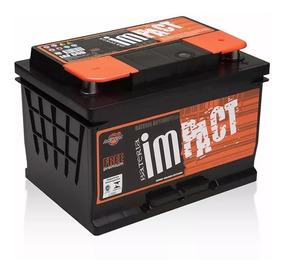 Bateria Automotiva Iaf60 12v 60 Amperes Impact Som