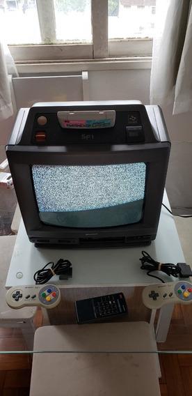 Sharp Nintendo Super Famicom Tv 14 Polegadas - Sf1 Naizou