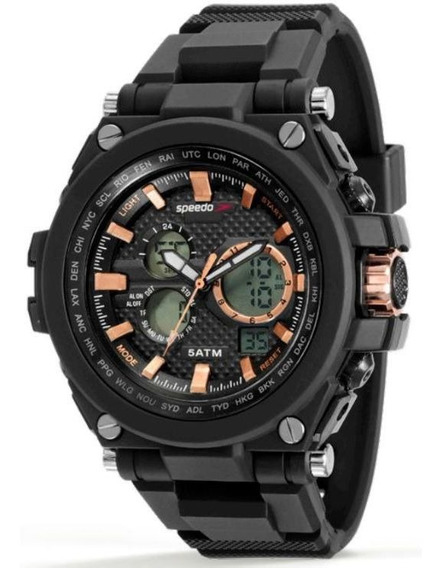 Relógio Speedo Masculino Ref: 81160g0evnp3 Big Case Anadigi