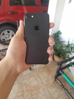 iPhone 7 128gb Black Mate Desbloqueado (300trmp)
