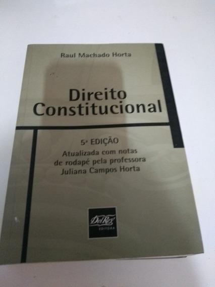 Direito Constitucional (raul Machado Horta
