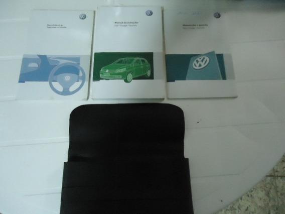 Manual Proprietario Volkswagen Gol Voyage Saveiro 2012 Orig.