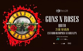 Vendo Entrada Vip Concierto Guns N Roses
