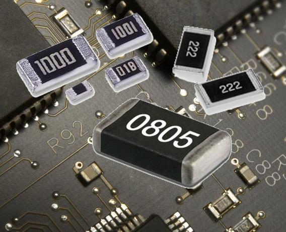 Resistor Smd 0805 682 6k8 5% 1/8w 100 Unidades