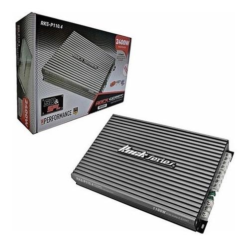 Imagen 1 de 5 de Amplificador Rock Series 4 Canales 2400w Clase Ab Rks-p110.4