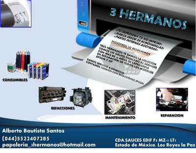 Servicio Y Reparacion De Impresoras Epson Y Refacciones