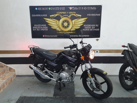Yamaha Libero 125 Mod 2018 Papeles Nuevos Traspaso Incluido