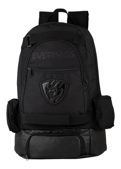 Mochila Térmica Fitness Marmita Notebook Black Everbags