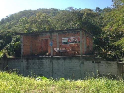 Imagem 1 de 5 de Terreno À Venda, 459 M² Por R$ 350.000,00 - Cafubá - Niterói/rj - Te3414