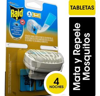 Raid Aparato Mosquitos Con Tabletas De Regalo - 3 Unidades