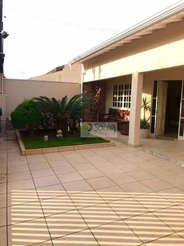 Casa À Venda, 169 M² Por R$ 590.000,00 - Parque Progresso (nova Veneza) - Sumaré/sp - Ca0811