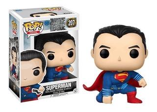 Funko Pop Superman 207 Dc La Liga De La Justicia Baloo Toys