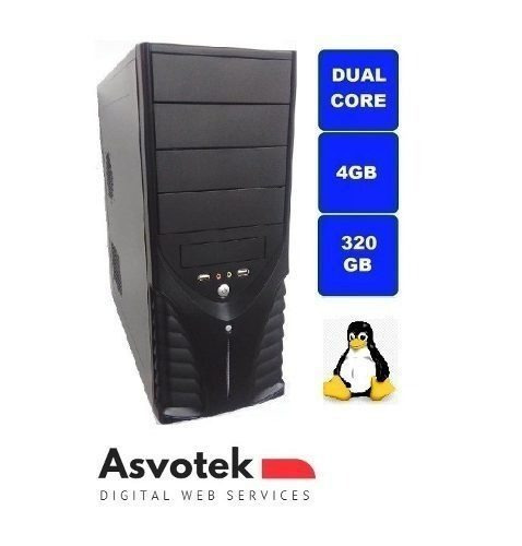 Computador Intel Dual Core 4gb Ram Hd320gb Asvotek