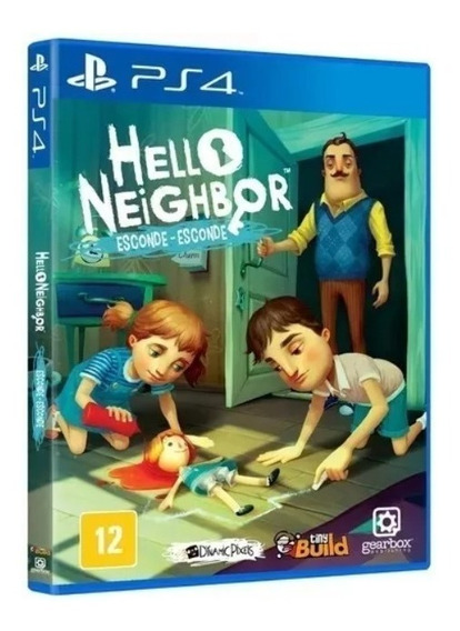 Hello Neighbor Esconde Esconde (mídia Física) Ps4 (novo)