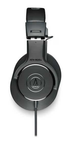 Fone Profissional Audiotechnica Athm20x Melhor Oferta Do Ml!