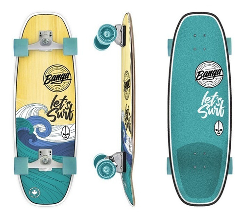 Surfskate Banga Boards Wave Cx - 100% Maple Carver - Cuotas