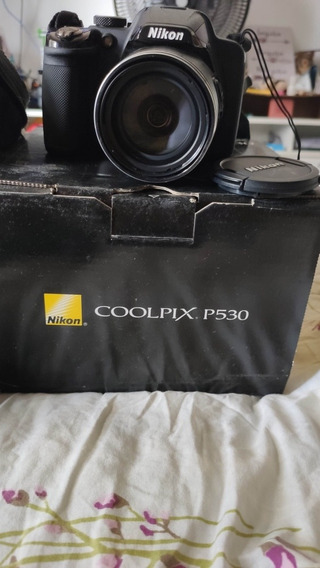 Câmera Semi Profissional Coolpix P530 Com Superzoom E 16 Meg