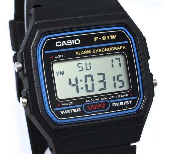 Reloj Clasico Unisex Casio Retro Vintage F91 Original Mayoreo