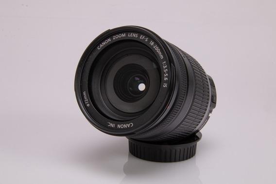 Objetiva Canon 18 200